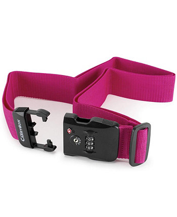 Luggage Strap with a Built-in TSA Combination Lock Miami CarryOn