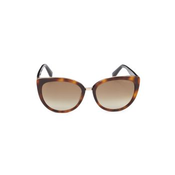 "Солнцезащитные очки ""кошачий глаз"" 56 мм Jimmy Choo"