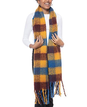 Многоцветный шарф в клетку Buffalo, созданный для Macy's Jenni