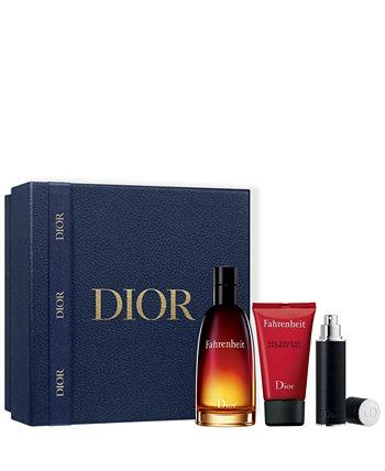 Мужские 3 шт. Подарочный набор туалетной воды Fahrenheit Dior