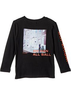 Футболка с длинным рукавом с рисунком All Ball (для малышей / маленьких детей / старших детей) SUPERISM