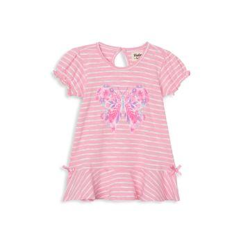 Восхитительное платье с бахромой и оборками для малышек и маленьких девочек Hatley