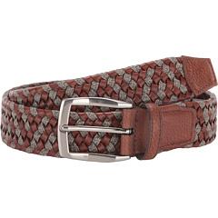 35 мм плетеная кожа и лен стрейч Torino Leather Co.