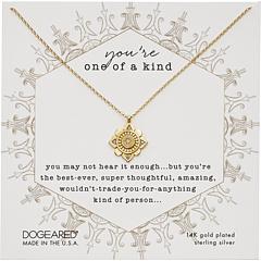Ты один в своем роде, хрустальное ожерелье мандалы Dogeared