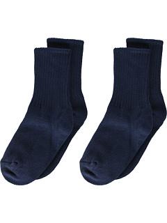Школьная форма ребрышника 2-Pack (малыш / маленький ребенок / большой ребенок / взрослый) Jefferies Socks