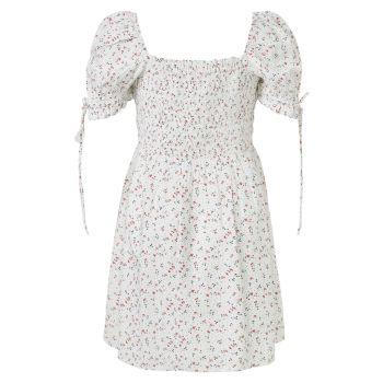 Платье Girl's Ditsy со сборками Bardot Junior