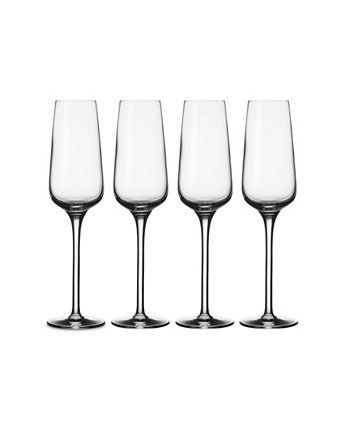 Voice Basic Flute Champagne Glasses, Set of 4 Villeroy & Boch