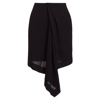 Асимметричная юбка с драпировкой Nina Ricci