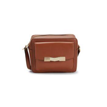 Chiseled M Leather Camera Bag Bruno Magli