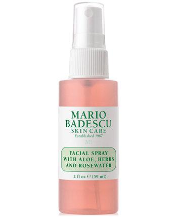 Спрей для лица с алоэ, травами и розовой водой, 2 унции. Mario Badescu