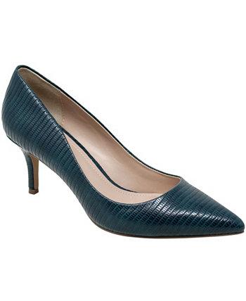 Туфли-лодочки с крокодилом для допуска женщин Charles by Charles David