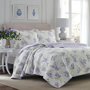 Пастельно-фиолетовое одеяло Twin Keighley Laura Ashley