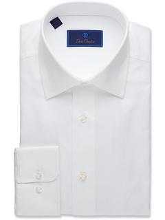 Королевская оксфордская классическая рубашка классического кроя David Donahue