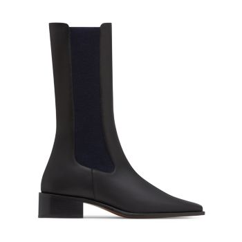 Pros Mid-Length Leather Chelsea Boots Neous