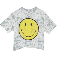Укороченная футболка Smiley с принтом тай-дай (Big Kids) The Original Retro Brand Kids
