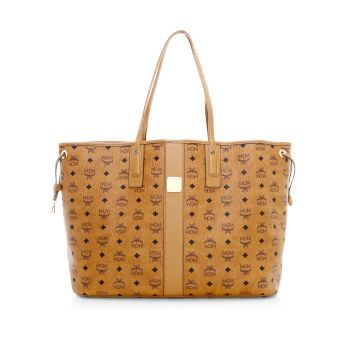 Двусторонняя сумка-шоппер-Visetos Large Liz MCM