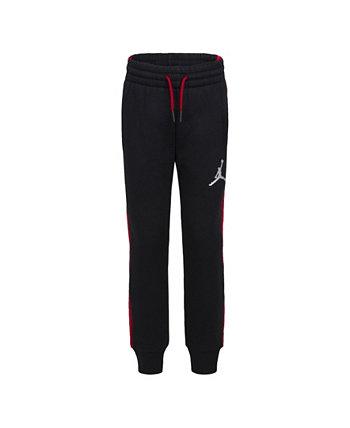 Флисовые брюки с логотипом для маленьких мальчиков Jordan