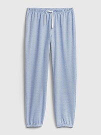 Kids Recycled Polyester Pull-On PJ Joggers Gap