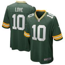 Мужское джерси Nike Jordan Love Green Green Bay Packers 2020 NFL Draft для первого раунда Nike