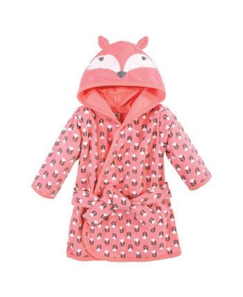 Халат для маленьких девочек из хлопка Hudson Baby