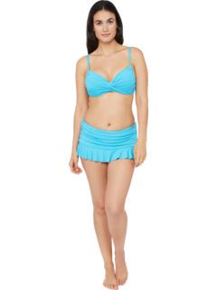 Топ-купальник бикини с бюстгальтером Island Goddess Twist Front La Blanca