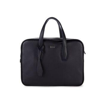 Кожаная сумка-почтальон BOSS Hugo Boss