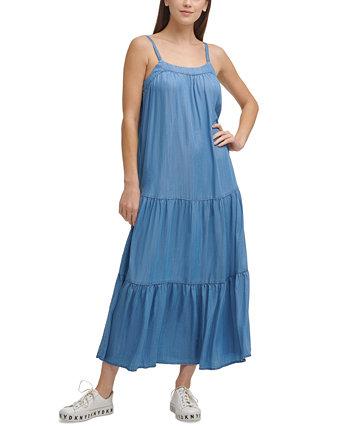 Tiered Maxi Dress DKNY Jeans