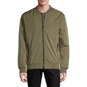 Куртка-бомбер с молнией во всю длину NOIZE