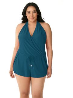 Сплошной размер Bianca Romper One-Piece Magicsuit