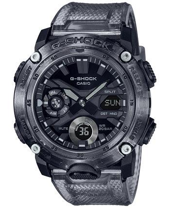 Мужские аналогово-цифровые часы из полупрозрачной дымчатой смолы 48,7 мм G-Shock