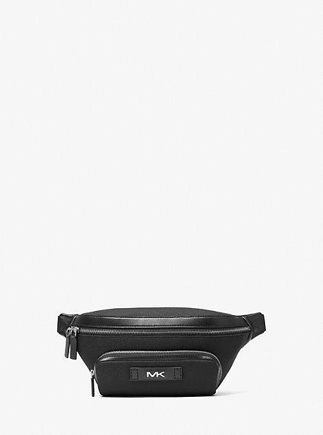 Плетеная поясная сумка Kent Michael Kors