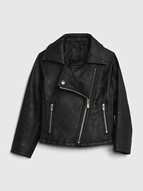Мотоциклетная куртка из искусственной кожи для малышей Gap