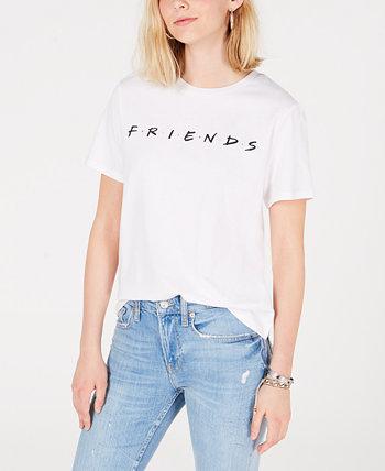 Хлопковая футболка с рисунком Juniors 'Friends Love Tribe