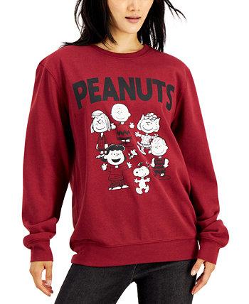 Флисовая толстовка с круглым вырезом для юниоров Peanuts