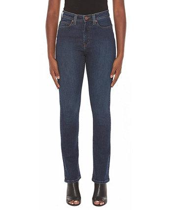 Женские прямые джинсы с высокой посадкой Lola Jeans