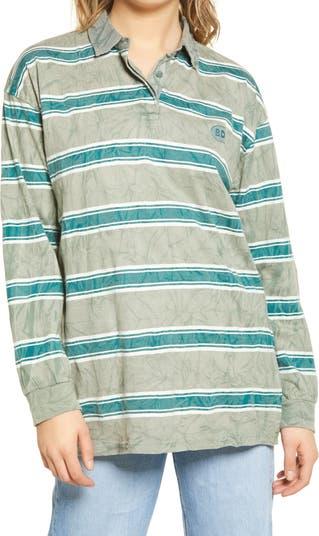 Рубашка-туника оверсайз для регби BDG