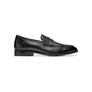 Warner Grand Leather Penny Loafers Cole Haan