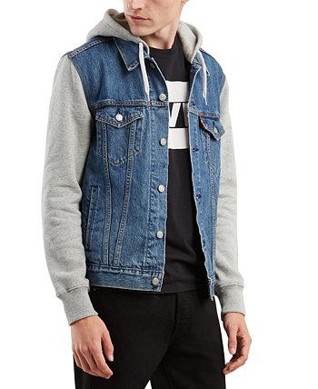 Мужская куртка Trucker с капюшоном Hybrid Levi's®