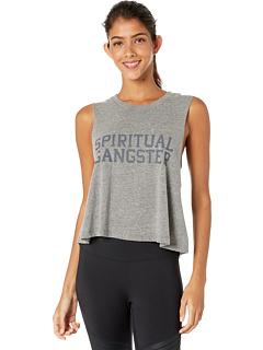 Укороченная майка Spiritual Gangster