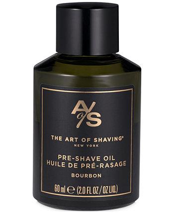 Бурбон до бритья масло, 2 унции. Art of Shaving