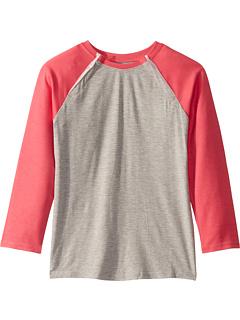Адаптивная бейсбольная футболка с открытыми плечами (Big Kids) Abilitee Adaptive Wear