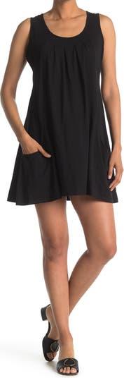 Платье со складками и круглым вырезом Papillon