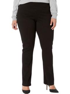 Джинсовые прямые джинсы большого размера с прямыми штанинами Lysse