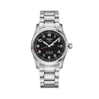 Часы Longines Spirit из нержавеющей стали с браслетом Longines