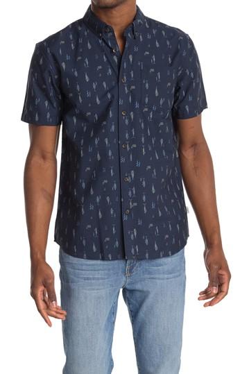 Рубашка классического кроя с принтом Grotto Fish Jack O'Neill