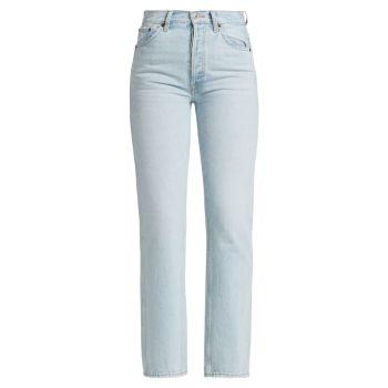 Свободные джинсы 90S с высокой посадкой Re/Done