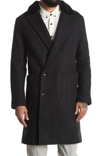 Куртка с воротником из натуральной овечьей шерсти Lommel Wool Blend BALDWIN