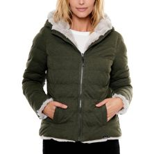 Women's Be Boundless Hooded Reversible Faux-Fur Jacket Be Boundless
