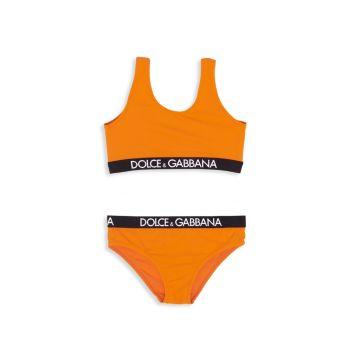 Маленькая девочка & amp; Сдельный купальник для девочек Dolce & Gabbana