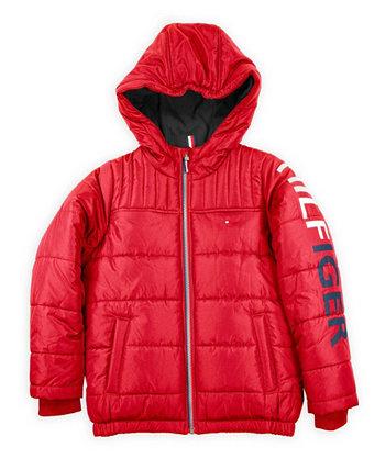 Хитовая куртка с рукавами для маленьких мальчиков Tommy Hilfiger